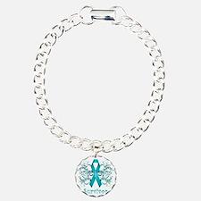TealCancerSurvivorDark Bracelet