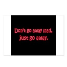 Don't Go Away Mad Postcards (Package of 8)