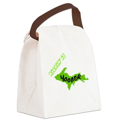yooperstyle copy Canvas Lunch Bag