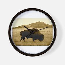 bisonabdark Wall Clock
