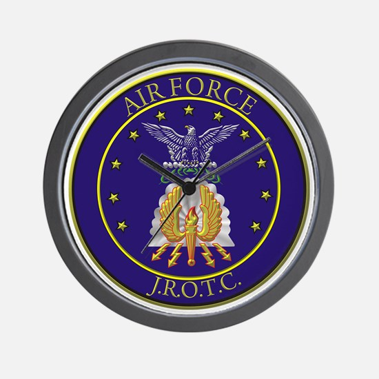 AFJROTC LOGO CIRCLE Wall Clock