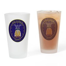 AFJROTC LOGO CIRCLE Drinking Glass