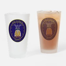 AFJROTC LOGO CIRCLE Drinking Glass