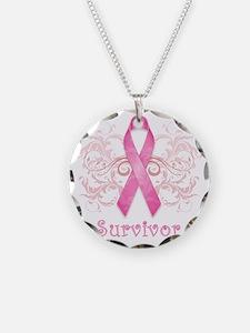 PinkCancerSurvivor Necklace