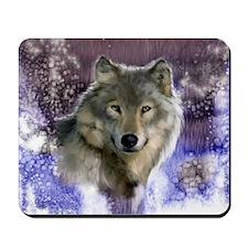wolf 10x10 Mousepad