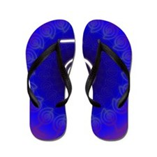 Cho-Ku-Rei-Reiki-Color-field Flip Flops