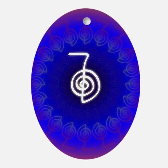 Cho-Ku-Rei-Reiki-Color-field Oval Ornament