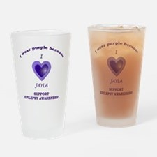 IHeartJayla Drinking Glass