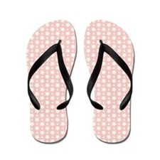 Pink Starry Night Flip Flops
