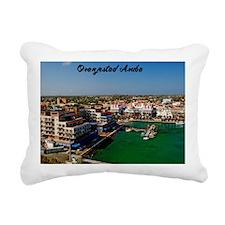 Oranjestad Aruba Rectangular Canvas Pillow