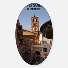 Santa Maria in Trastevere Decal