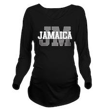 JM Jamaica Long Sleeve Maternity T-Shirt