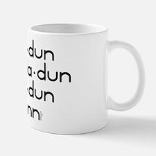 Smoke Water Print -  Mug