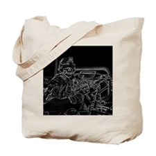 trunk monkey b/w 2 Tote Bag