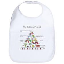 Dietitian's Pyramid Bib
