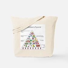 Dietitian's Pyramid Tote Bag