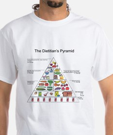 Dietitian's Pyramid Shirt