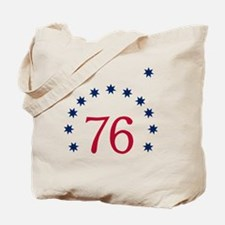Bennington 76 - White Tote Bag