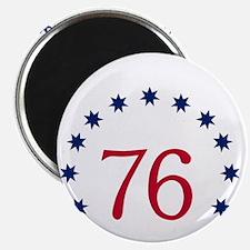 Bennington 76 - White Magnet
