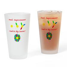 small improvement flower Drinking Glass