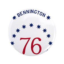 """Bennington 76 - White Name 3.5"""" Button"""