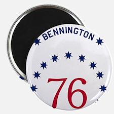 Bennington 76 - White Name Magnet