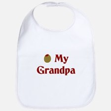 Olive My Grandpa Bib