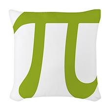 pi2 Woven Throw Pillow