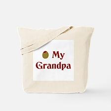 Olive My Grandpa Tote Bag