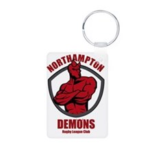 demons-logo Keychains