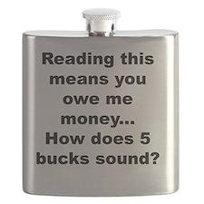 Five bucks Flask