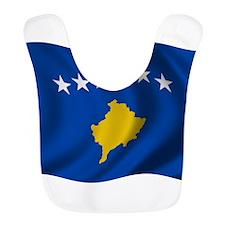 Wavy Kosovo Flag Bib