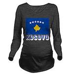 Kosovo Long Sleeve Maternity T-Shirt