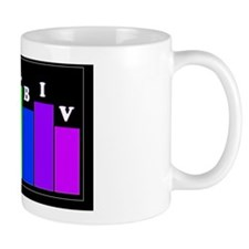 ROY G BIV Sticker Mug