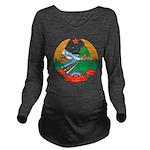 Laos Coat Of Arms Long Sleeve Maternity T-Shirt