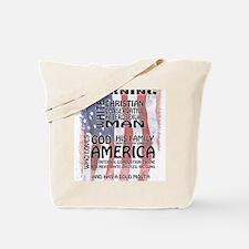 White Guy Tote Bag