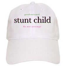 stunt-child-whiteshirt Baseball Cap