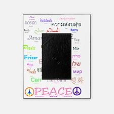 PEACE Languges Bottom Black2 Picture Frame