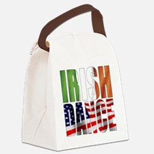 Dance Flags Canvas Lunch Bag