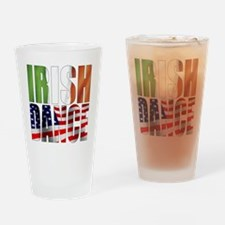 Dance Flags Drinking Glass