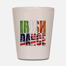 Dance Flags Shot Glass