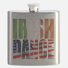 Dance Flags Flask