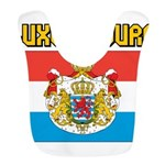 Luxembourg Flag Bib