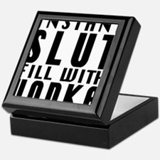 instant slut Keepsake Box