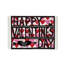 2011_valentine Rectangle Magnet