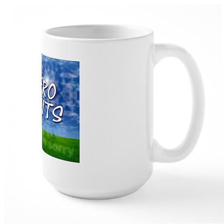 Zero Limits WIDE Large Mug