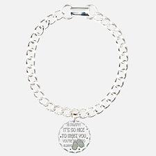 TalinaDeluxToddlerNiceto Charm Bracelet, One Charm