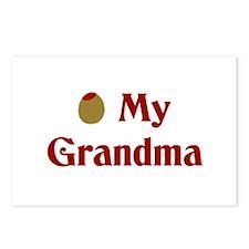 Olive My Grandma Postcards (Package of 8)