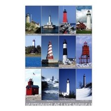 Lake Mich 16x20 Postcards (Package of 8)