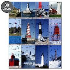 Lake Mich 16x20 Puzzle